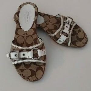 Coach Slide on Sandals